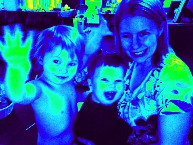 Mommy and Me Monday! Fun with Photo Booth