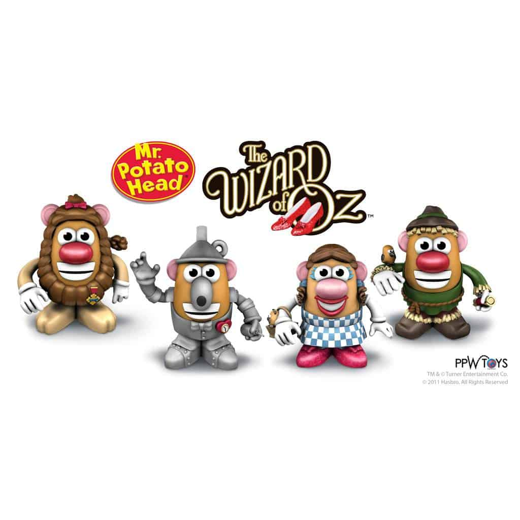 Wizard of Oz Mr. Potato Head Unveiled at 2011 Toy Fair in New York