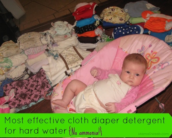 Most Effective Cloth Diaper Detergent for Hard Water