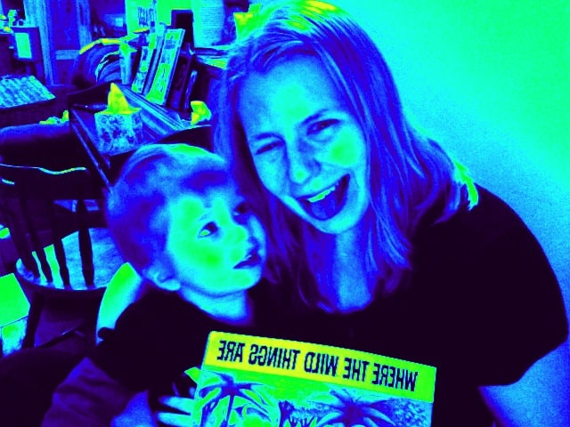 Mommy & Me Monday ~ Lucy & David!