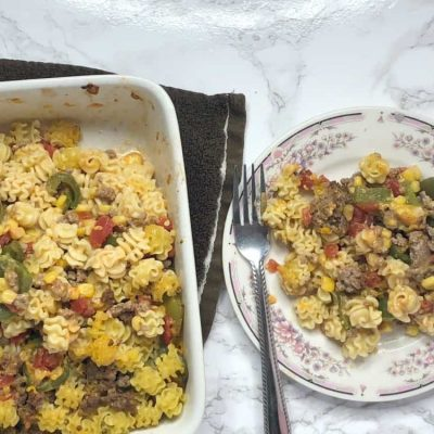 Casseroles from the 1950s – Beef Noodle Casserole Recipe