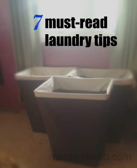 7 must-read ways to stop floundering with laundry