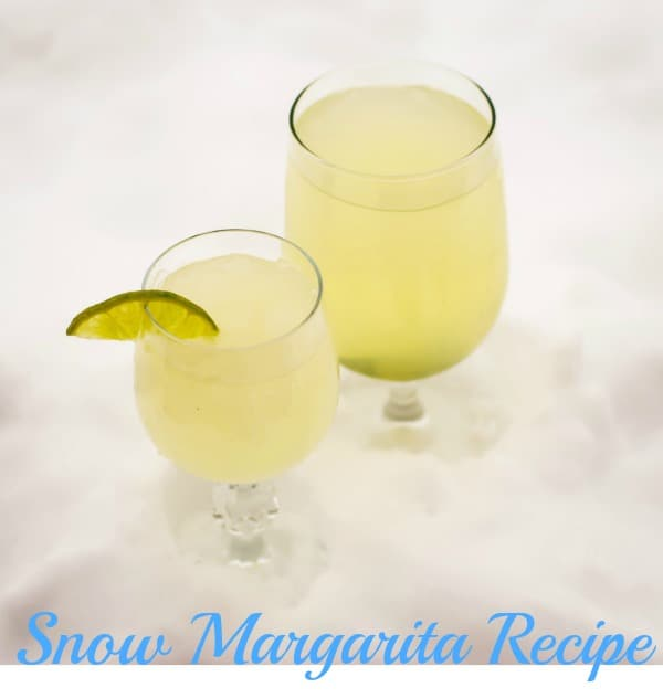 How to make Snow Margaritas