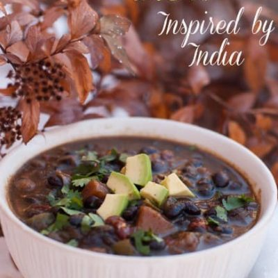 Black Bean Stew – Inspired by India