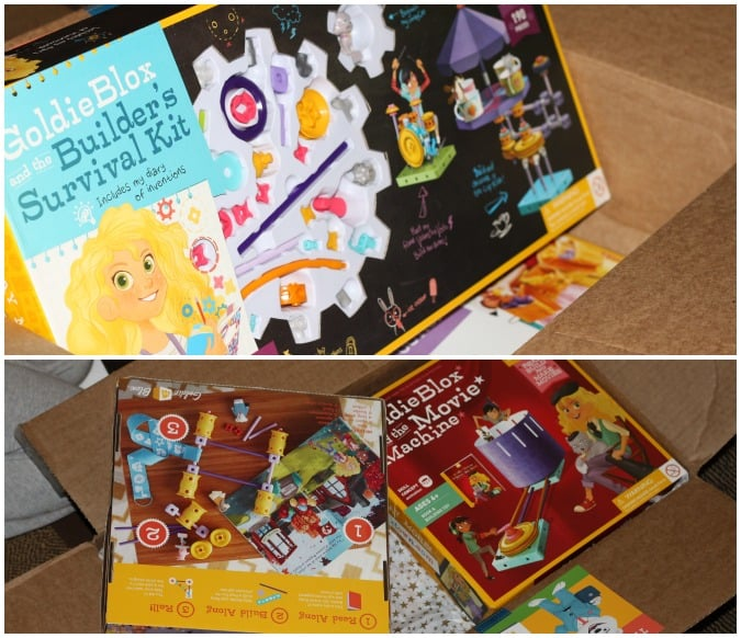 GoldieBlox : The magic is in the storybook #LookAtGoldie