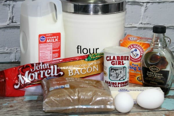 Maple Bacon ingredients