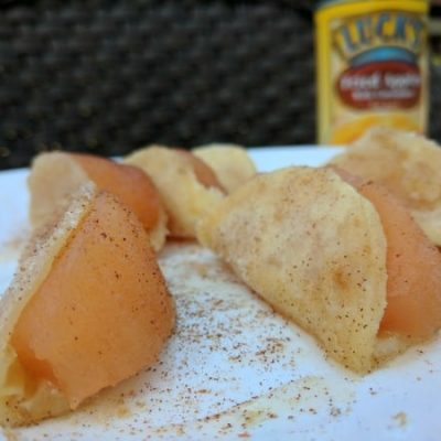 Quick & Easy! Bite-Sized Fried Apple Tacos Recipe