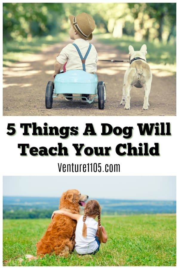 5 Things A Dog Will Teach Your Child