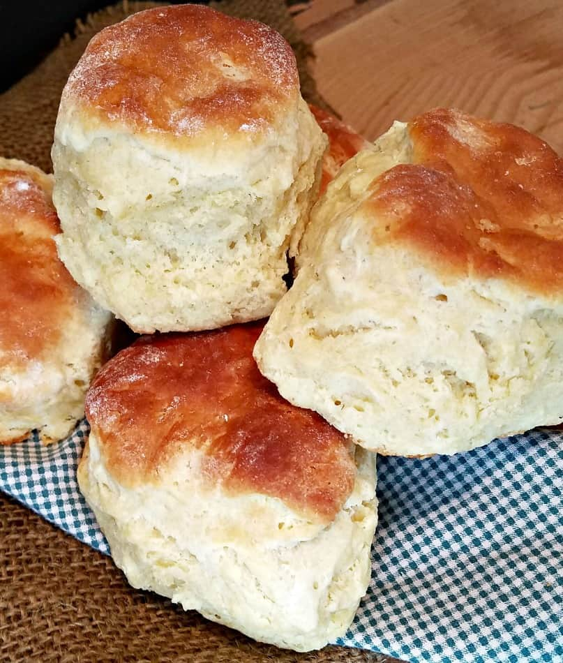 homemade buttermilk biscuits from scratch