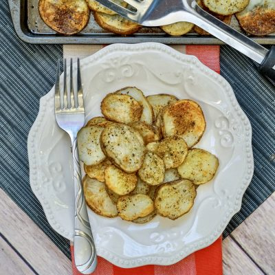 30-Minute Garlic Potatoes