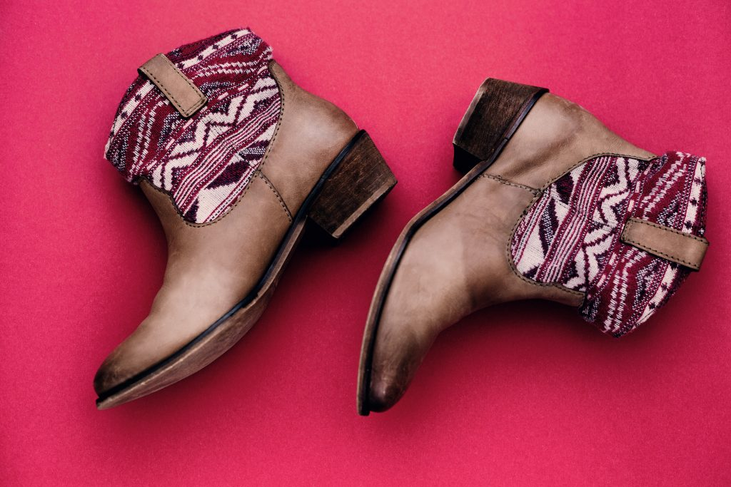 suede western boots for women