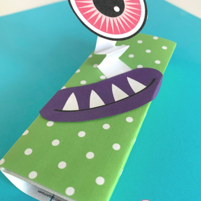 Free Printable Monster Candy Bar Wrapper